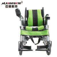 Wholesale Stable Small Motorized Wheelchair , Fold Up Motorized Wheelchair Shock Absorbing from china suppliers