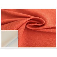 Buy cheap Two - Tone Orange Waterproof Fabric 400D High Color Fastness Moisture Permeable from wholesalers