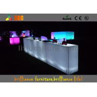 Wholesale Colors change LED Bar Tables , banquet & party Glowing bar furniture from china suppliers