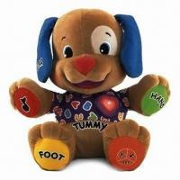 China Musical Dog Fisher-Price Laugh/Learn Love to Play Puppy Baby Plush Musical Toys on sale