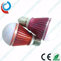 Wholesale 560 - 680 Lumens Aluminum 6063 PC Cover 7W SMD LED Light Bulbs with Colored Housing from china suppliers