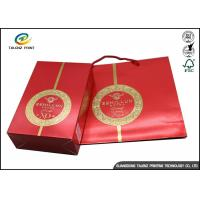 Wholesale Customized Printed Paper Wine Packing Gift Box Wholesale Paper Wine Boxes from china suppliers