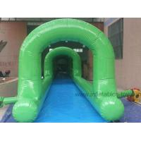 Wholesale Customized Inflatable Pool Slides , PVC Tarpaulin Inflatable Water Slides For Adults from china suppliers
