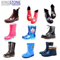 Quality Kingstone Shoe Machinery Rotary 1/2/3 Colors Gumboots Making Machine for sale