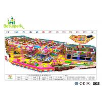 Wholesale Anti - Crack Infant Indoor Playground , Soft Play Indoor Playground Family Fun For Kids from china suppliers