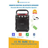 Wholesale Remote Control Portable Wireless Bluetooth Speaker with UHF Wireless Megaphone MIC Recording 3.5mm 6.5mm Handle from china suppliers