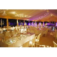 Quality Garden Uv Resistant Banquet Luxury Wedding Tents Lighting System Choosen for sale