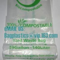 Wholesale packaging food bags, corn bags, Compostable, D2W, EPI, Biodegradable, degradable, EN13432 from china suppliers