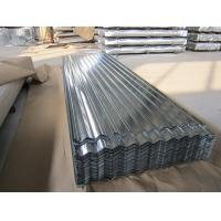 Wholesale SGCC, G550, JIS G3302 steel Regular Spangle Galvanized Corrugated Roofing Sheet / Sheets from china suppliers