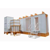 Wholesale Automatic Spray Booth  With Cyclone Filter Recovery System from china suppliers