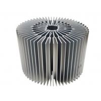 Buy cheap Sunflower -Heat Sink /  Aluminum Heatsink Extrusion Profiles For Led Light from wholesalers