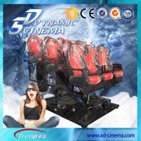 Buy cheap 2250 Watt 220 Volt 5D Cinema Equipment , 5D Motion Ride With Surround Sound For Game from Wholesalers