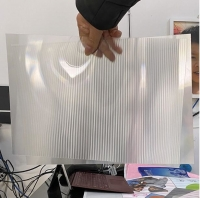 Wholesale OK3D factory manufacture 0.9mm 70LPI PET Lenticular Sheet for 3d lenticular printing by injekt print and UV offset print from china suppliers