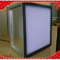 Wholesale 610x610x292mm galvanized frame separator mini pleated hepa filter air purifier from china suppliers