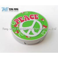 Quality Compact Round Custom Pocket Makeup Mirror OEM For Promotional for sale