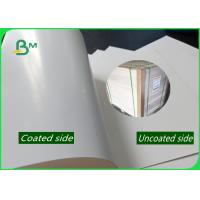 China 1.5 / 1.35mm Ivory Board Paper Hight Thickness Glossy Smoothness White Cardboard For Packing for sale