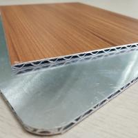 Wholesale Wooden Marble Series PVDF Aluminum Composite Panel , Aluminium Core Panel from china suppliers