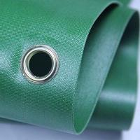 Wholesale Green 100 Woven Polypropylene Textiles With Holes For Solvent Printing from china suppliers