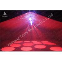 Quality Popular Red Color Fabric 20m Width Luxury Wedding Dinner Party Tent Marquee for sale