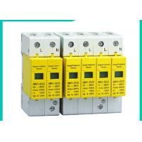 Wholesale 10~100kA Din Rail Surge Protector SPD , 220V/380V 3 Phase Surge Protection Devices from china suppliers