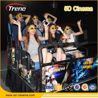 Wholesale Metal Screen 7d Simulator Cinema 6 / 9 Seats With Wind Effects Electric System from china suppliers