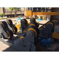Wholesale Adjustment Pipe Welding Rollers , Self Aligning Rotators 0.1~1m/Min Wheel Speed from china suppliers