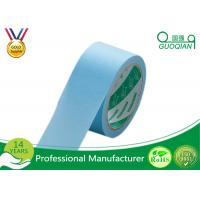 Wholesale 3M Adhesive Waterproof Colored Bule Masking Tapes Auto Painting Paper Masking Tape from china suppliers