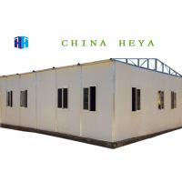 Wholesale Reusable Custom Metal Building Homes , 3 Bedroom Prefab House 12.4m Length from china suppliers