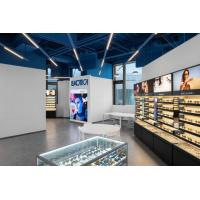 Quality Fashion design of Optical store interior shopfitting used modern display wall for sale