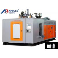 Wholesale Electric Control Plastic Blow Moulding Machine HDPE 3.5L Lubricant Detergent Bottle Extrusion from china suppliers