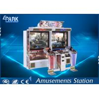 6 Stage Shooting Arcade Machines Dynamic Gun HD LCD Screen For Children for sale