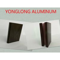 Wholesale 6061 / 6063 T3 - T8 Aluminium Door Profiles With Wood Finish / Aluminium Extrusion Profiles from china suppliers