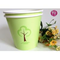 Wholesale Green 32oz Custom Flexo Print Round  Paper Container For Plant from china suppliers