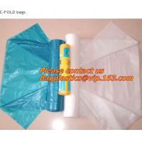Wholesale C FOLD Rolls, Drawstring Closure, Linear Low-Density Polyethylene, Green Trash Bags, SACKS from china suppliers