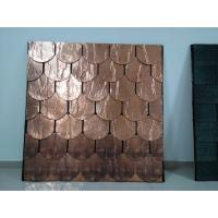 Wholesale Copper Roofing Shingles , Plane Standard Type Color Roof Shingles from china suppliers