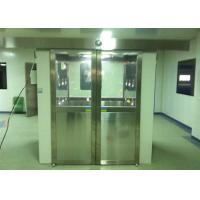Three Side Blowing Stainless Steel Pharmaceutical Cleanroom Air Shower System 380V 60HZ