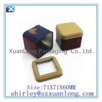 Wholesale Wholesale Small Square Metal Tea Tin with factory price from china suppliers
