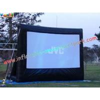 China Motorized Projection Commercial Grade 0.55mm Inflatable Movie Theater Screen on sale