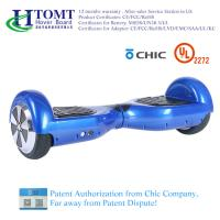 Buy cheap 2 Wheel Self Balance Scooter Hoverboard With 6.5 Inch Wheel Bluetooth Speaker with Chic License from wholesalers