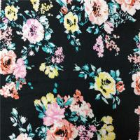 Wholesale Environmental Printing Patterned Rayon Fabric , Soft Solid Rayon Fabric from china suppliers