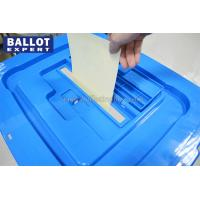 Quality Resistant Chemical Corrosion Large Election Ballot Box 109L Plastic Transparent for sale