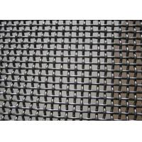 Wholesale Crush Stone​ Crimped Wire Mesh , Vibrating Screen Mesh Polished Surface Treatment from china suppliers