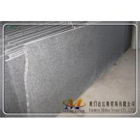 Flamed G684 Black Basalt Slabs for sale