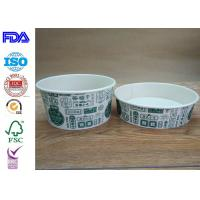 Wholesale Disposable Food Grade Paper Salad Bowls For BBQ With FDA Certification from china suppliers