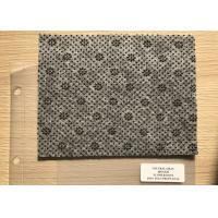 Wholesale Anthracite Flower Dotted Polyester Needle Punched Felt Fabrics For Anti Slip Floor Carpet from china suppliers