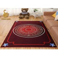 Wholesale Economical 3D Printed Floor Custom Needle Punched Nonwoven Printed Area Rugs from china suppliers