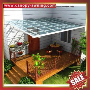 Buy cheap polycarbonate aluminium awning/canopy, gazebo shelter,patio shelter,modern from wholesalers