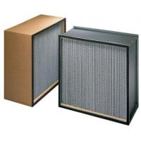 Wholesale ZS-GW-9151 Mini pleat hepa filter h14 for HVAC system from china suppliers