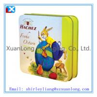 Wholesale candy and chocolate square tin box from china suppliers
