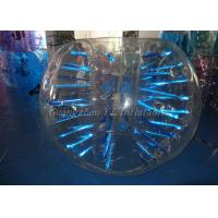 China Transparent Human Sized Bubble Ball / TPU Glowing Bumper Ball For Adults on sale